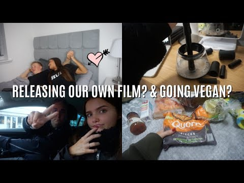 Weekly Vlog 18- RELEASING OUR OWN FILM? & GOING VEGAN? | Adina May