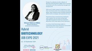 Universum connecting employers with potential candidates and vise versa- Winani Ndlovu