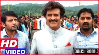 Lingaa Tamil Movie Scenes HD | KS Ravikumar arrests Rajinikanth | Climax Comedy Scene