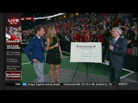 ESPN Leftovers: Sara Walsh, Lisa Kerney, Nicole Briscoe, Wendi Nix