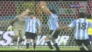 brasil 0 x 1 argentina amistoso melhores momentos 17 11 2010