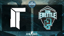 CS:GO - Titan vs. eBettle [Train] - ESL One Cologne 2015 EU Qualifiers - Group B