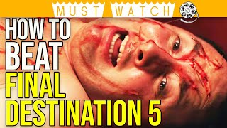 How to Beat DEATH in FINAL DESTINATION 5 (2011) Explained | Horror Movie Explained