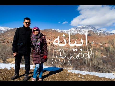 IRAN VLOG #3: ABYANEH - THE MOST BEAUTIFUL SPOT IN IRAN