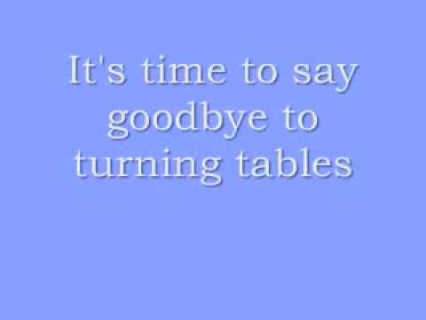 Turning Tables Glee Version LYRICS!!