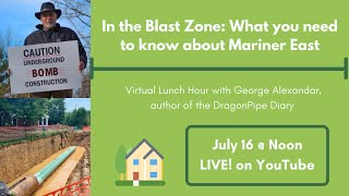Virtual Lunch - In the Blast Zone: What you need to know about Mariner East