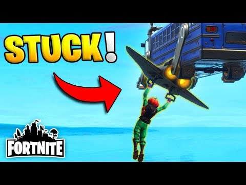 MY GLIDER IS STUCK TO THE BATTLE BUS! (Fortnite Funny Fails and WTF Moments) #7