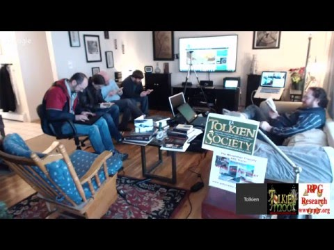 Eä Tolkien Society January 9th 2016 Monthly Meeting Broadcast