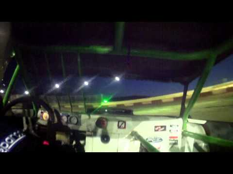 8.15.15---peoria Speedway---Street Stock Feature----in car