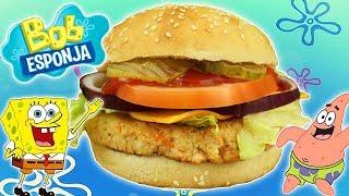 Burger CANGREBURGER de BOB ESPONJA! RECETA SECRETA REVELADA!