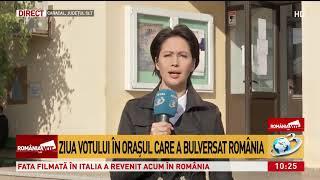 Imagini în direct din Caracal. Cum se desfăşoară votul în oraşul care a bulversat România