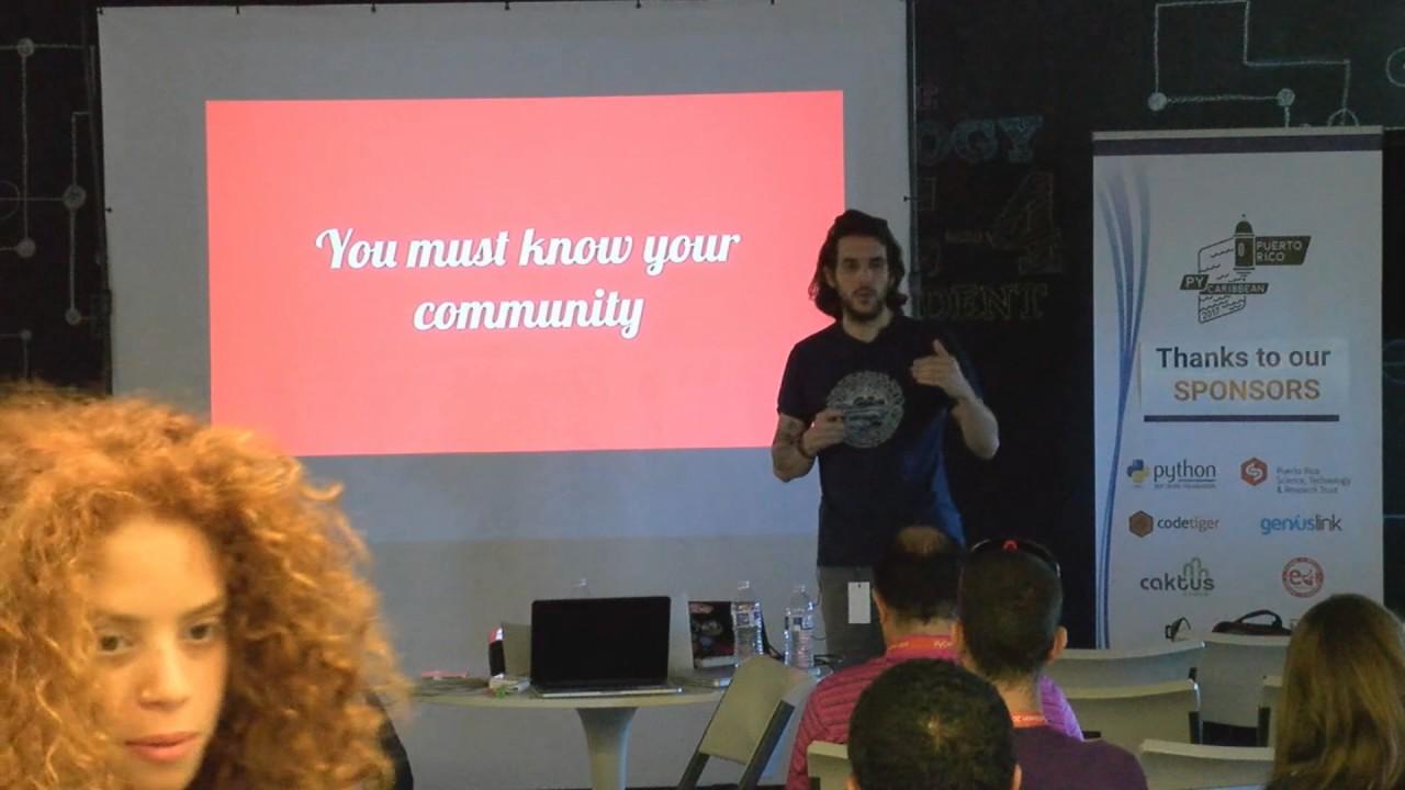 Image from Flavio percoco - keynote