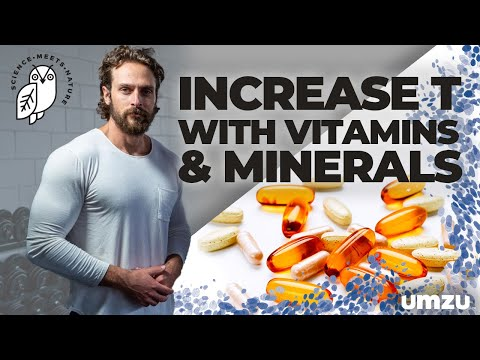 How To Boost Testosterone With Vitamins And Minerals As A Natural Testosterone Booster