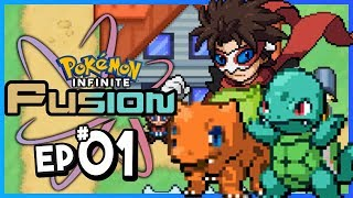 Pokemon Infinite Fusion Part 1 FUSION POKEMON! Pokemon Fan Game Gameplay Walkthrough