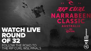 WATCH LIVE The Rip Curl Narrabeen Classic Presented By Corona Round of 32