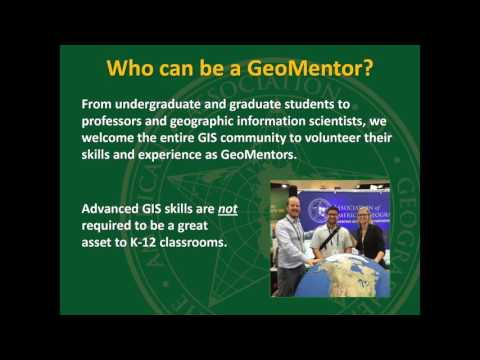 GeoMentors: the Nationwide Effort to Improve K 12 GIS and Geography Education