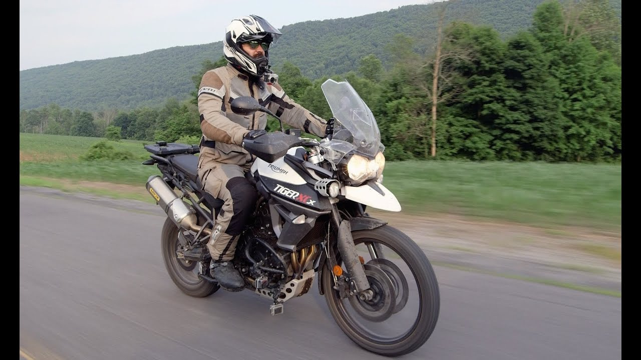 triumph tiger 800 xcx review at youtube. Black Bedroom Furniture Sets. Home Design Ideas