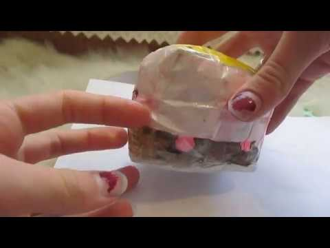 How to make a marshmellii s'mores paper squishy\\how to make a squishy without foam\\