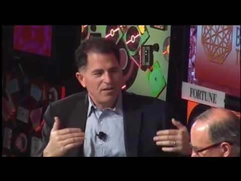 Michael Dell addresses Dell