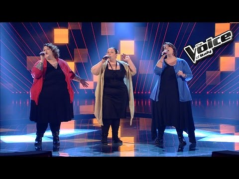 Sorelle Baccaglini - Hit The Road Jack - The Voice Of Italy 2016: Blind Audition