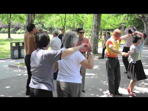 Singing and Dancing in Fuxing Park, Shanghai