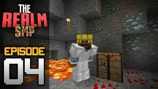 Realms Multiplayer Survival Ep. 4 - DIAMONDS and EMERALDS! - Minecraft PE (Pocket Edition)