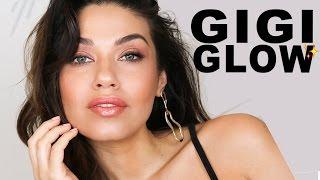 Bronze Goddess Makeup Tutorial   Gigi Hadid Inspired Makeup   Eman