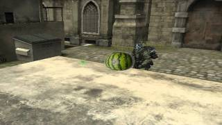 CA Turtlee    Amazing Race Watermelon in the Face SPOOF!   