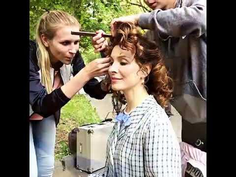 Елена Подкаминская показала, как снималась с шестимесячной дочерью в сериале