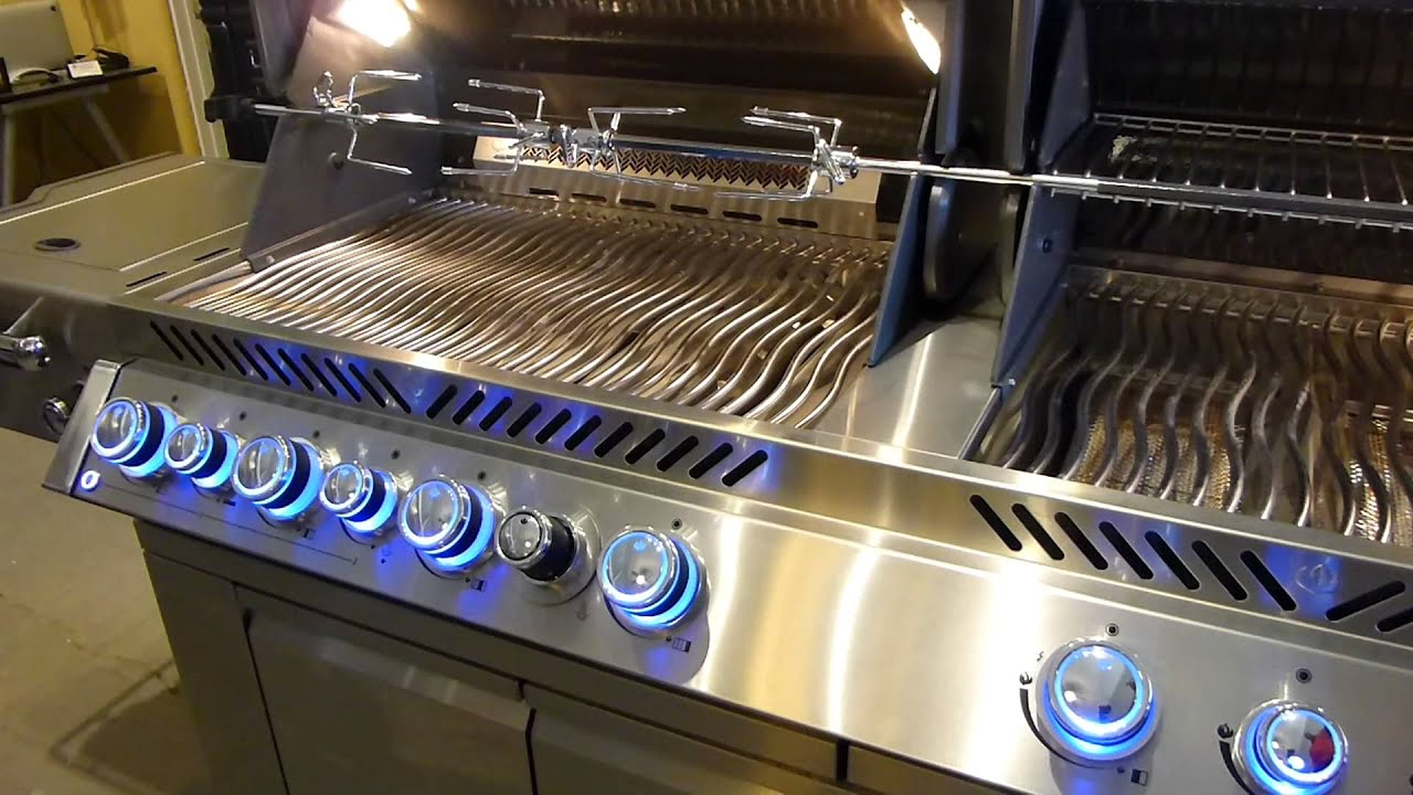 Napoleon grill napoleon grill aurora series from fire magic 100 100 outdoor grill lights sunstone 42 inch infrared 5 burner aloadofball Choice Image