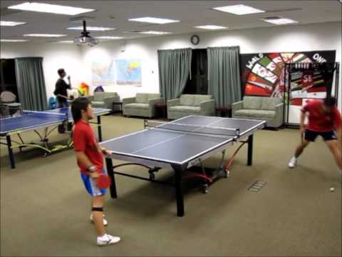 Gan's Good Shots in the Ping Pong Games