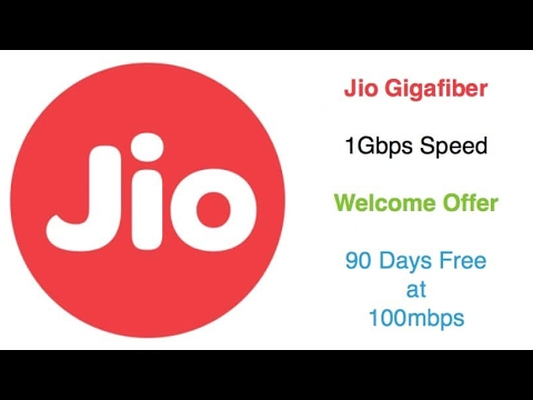 Jio broadband service free for 3 month big discription must watch