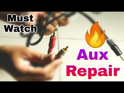 aux-port-repair-for-#home-theater,-#dvd,-#tv,-#sound-bar...!!!🔥