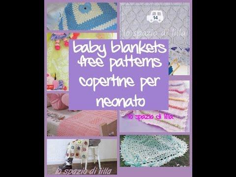 Copertine Ai Ferri E Uncinetto Raccolta Schemibaby Blankets Free