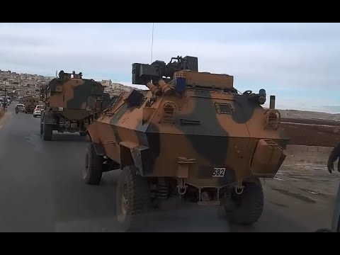 Another Turkish military convoy spotted in Syria