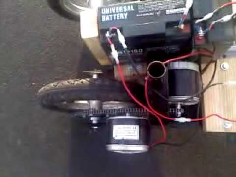Homemade Dual Motor Electric Pusher Trailer Youtube