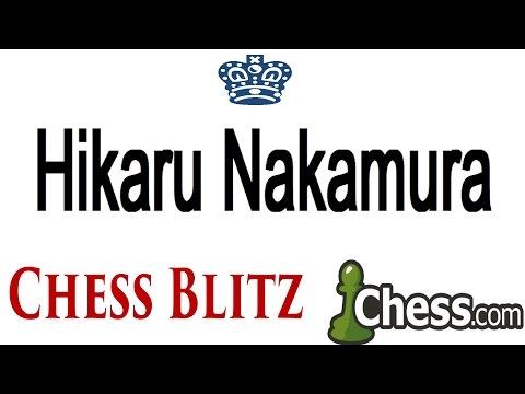 ♚ GM Hikaru Nakamura Plays Chess Blitz on Chess.com Before Zurich Chess Challenge 2015