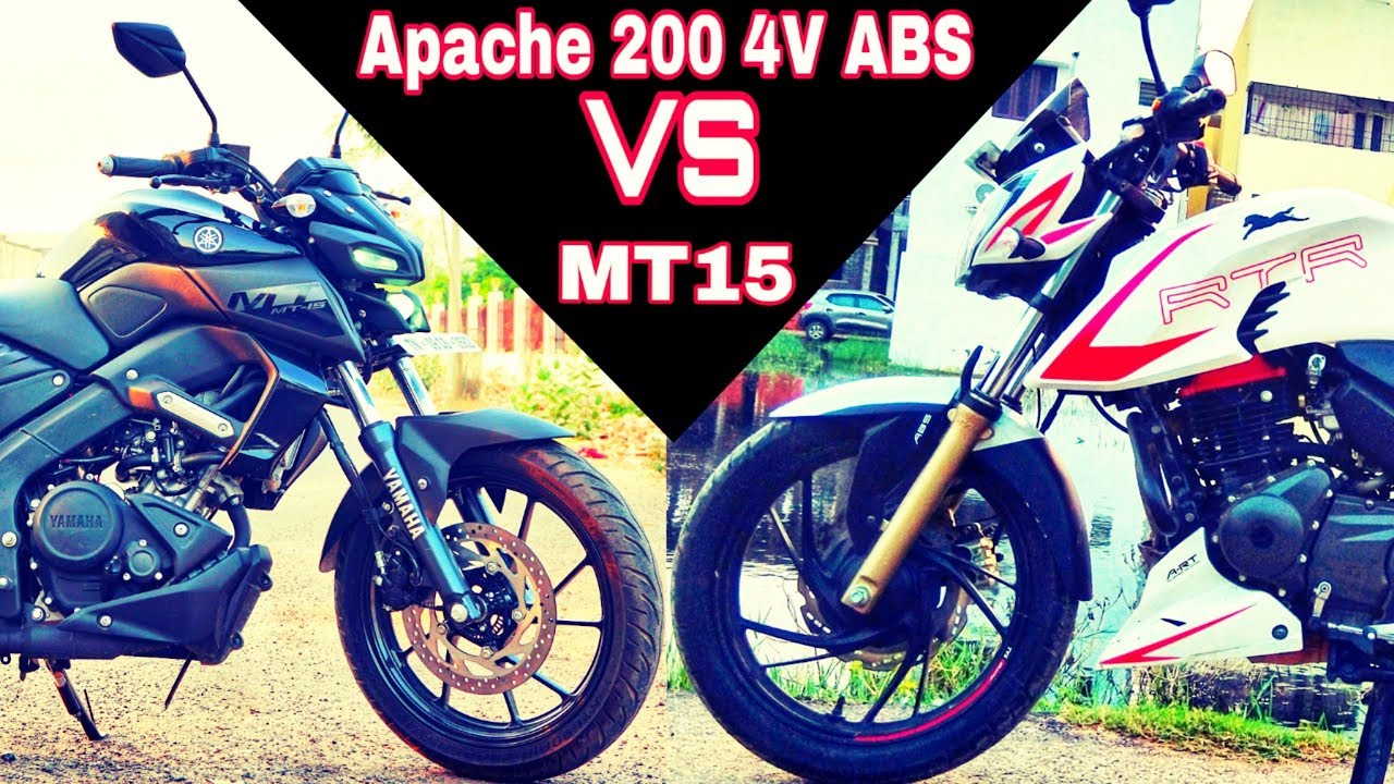 Download Apache 200 4V ABS vs Yamaha MT15 - The Ultimate Comparison Review | Rev Force