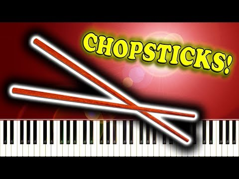 CHOPSTICKS - Piano Tutorial