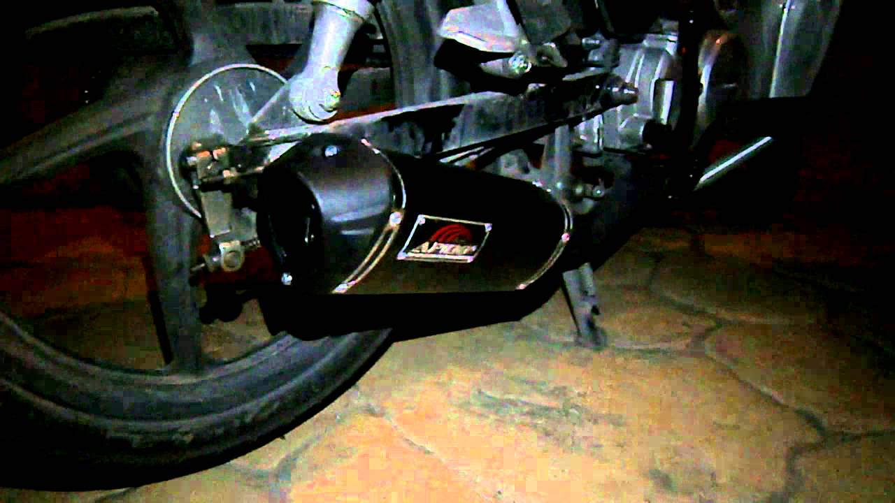 honda wave 110cc apido racing exhaust - youtube