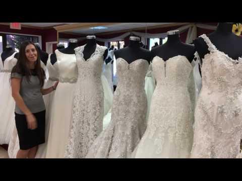 Wedding Dress Shopping 101: Silhouettes I. White Swan Bridal Boutique.
