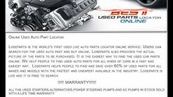 Used Auto Parts Online , Used Auto Part Locator | www.loseparts.com