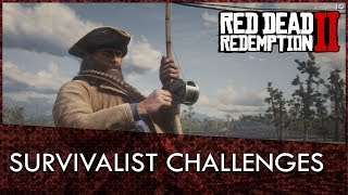 Red Dead Redemption 2 Survivalist Challenges Guide Video