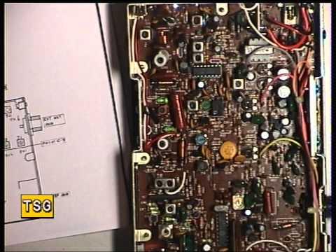 Realistic TRC2002 - UK CB radio, (CB 27/81) (Mobile) - Transmit alignment & VCO.