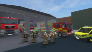 ROBLOX Fire & Rescue Service - Running Man Challenge