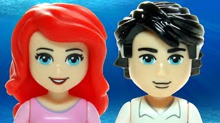Animated LEGO Ariel's Magical Kiss 41052 Disney Princess The Little Mermaid Flash Speed Build