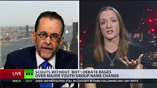 Debate: Scouts drop 'boy' & allow girls to join it