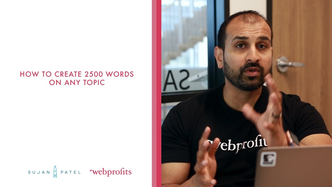 Blogging Basics: How to Create 2500 Words on Any Topic