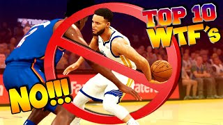 NBA 2K20 TOP 10 WTF Highlights & FUNNY Moments #16