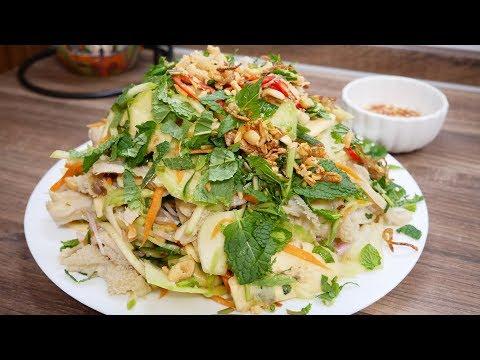 GỎI LÒNG BÒ - Cách làm món Gỏi Lòng Bò bóp thấu thơm ngon thật nhanh và đơn giản by Vanh Khuyen